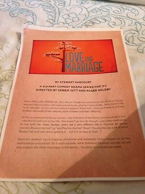 Love And Marriage Press Pack Alison Steadman Duncan Preston