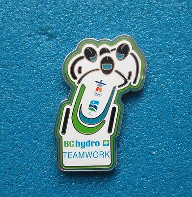 Bc Hydro Teamwork Vancouver 2010 Olympic Paralympic Winter Games  Pin # Ol- 3