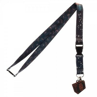 Fantastic Beasts and where to find them Newt Scamander Lanyard Charm ID Holder