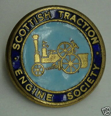 SCOTTISH TRACTION ENGINE SOCIETY Collector Pin