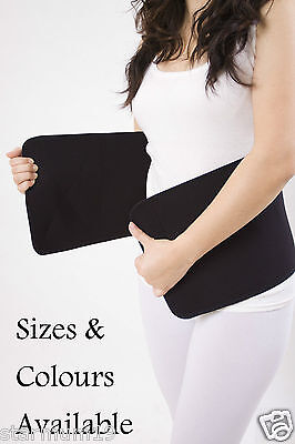 Black Post Pregnancy Belt Belly Band Tummy Wrap made of Bamboo material