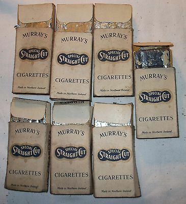 Vintage Live Packets 7 X 10 Murray's  Cigarettes Pre Health Warning