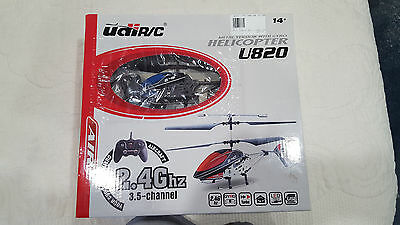 YDI Metal Helicopter U820