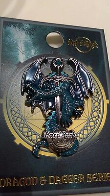 Hard Rock Cafe Pin - Edinburgh - Dragon and Daggers JUST RELEASED
