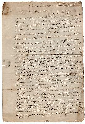 Autograph Letter Signed Canandaigua NY 1803 Dr Williams to Rev Lyman Hatfield MA