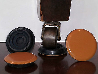 Piano Coasters caster cups