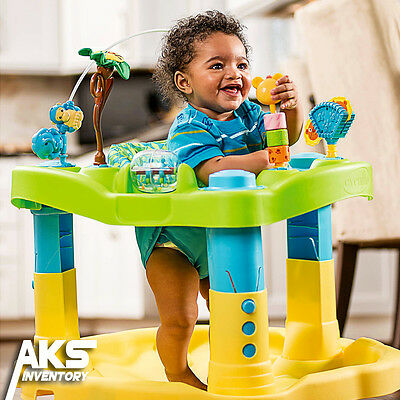 Zoo Friends Bounce & Learn Baby Activity Center Deluxe ExerSaucer Toddler Play