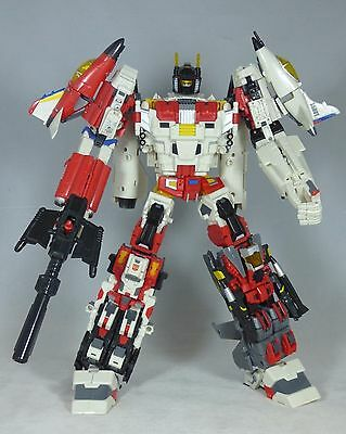 Transformers TFC Uranos (Superion) Aerialbots Complete Set + Wing of Uranos Kit