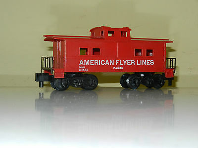 American Flyer End Caboose American Flyer Lines S Scale Like New