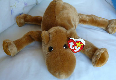 New Retired Ty Beanie Buddies Collection Plush Humphrey the Camel with Tags 1998