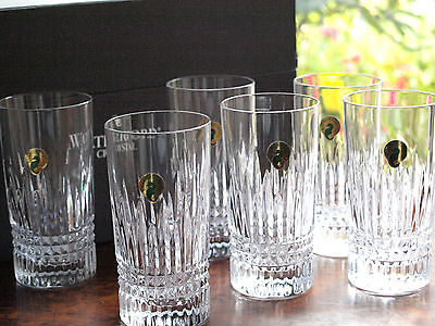 Waterford Crystal Lismore Diamond Hi-Ball (Set of 6), Brand New in Box