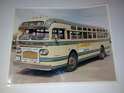Vintage GMC Bus Photo Classic Kitchener Wettlaufer Boehmers City Hall