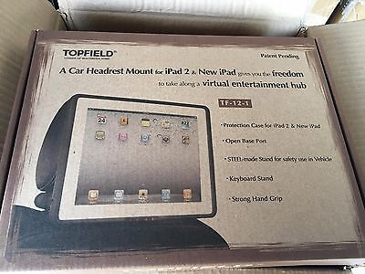 iPAD 2/3/4 CAR HEADREST MOUNT - TOPFIELD **BRAND NEW** SHIPS FROM NSW