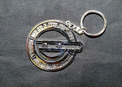 GHOST IN THE SHELL all metal Keychain LAUGHING MAN