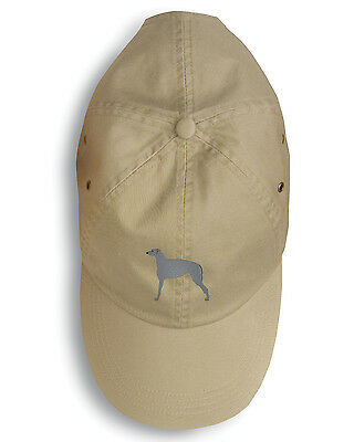 Carolines Treasures  BB3396BU-156 Scottish Deerhound Embroidered Baseball Cap