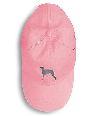 Carolines Treasures  BB3396PK-156 Scottish Deerhound Embroidered Baseball Cap