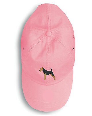 Carolines Treasures  BB3457PK-156 Airedale Terrier Embroidered Baseball Cap