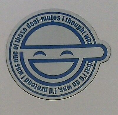 Ghost In The Shell: Stand Alone Complex - Laughing Man Fridge Magnet