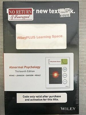Wiley plus access code guaranteed to work with any course same abnormal psychology wileyplus access code fandeluxe Image collections