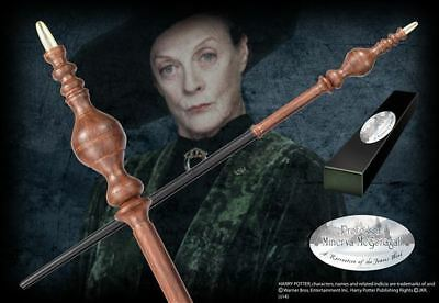 Harry Potter : PROFESSOR MINERVA MCGONAGALL Character Edition Wand from Noble