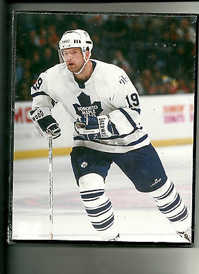 "New 8""X10"" Wooden Plaque Dominic Moore Toronto Maple Leafs sealed in plastic"