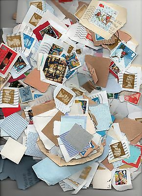 kiloware Great Britain on paper machin stamps 25 kilo, collection or £12.00 post
