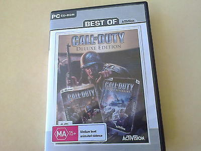 CALL OF DUTY DELUXE EDITION, Call of Duty 1  and United Offensive ,XP only