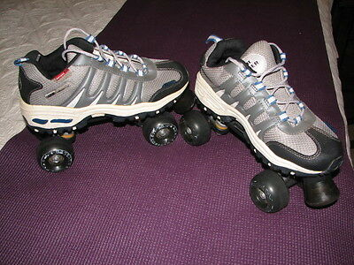 RC SPORTS SONIC CRUISER OUTDOOR ROLLER SKATES ~ MENS Size 8/ Women Size 9