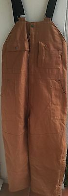 NWT Craftsman Men's Insulated Bib Overalls with Teflon Size XL