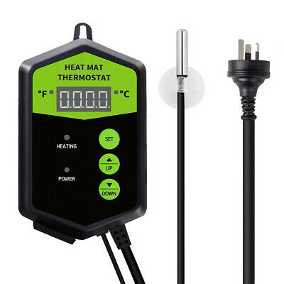 Seedling Heat Mat Thermostat - Compatible with all Heat Mat   Digital Temp Contr