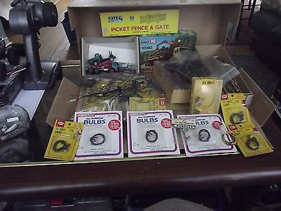 HO Scale Lot of Goodies up for grabs Pictures will Tell the Story