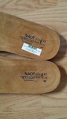 NAOT - one pair of brand new footbed / insole Size 41 (L10 M8)