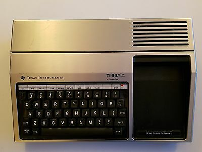 TI-99/4A - Used, in excellent condition, untested