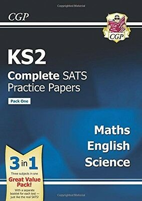 KS2 Complete SATS Practice Papers: Science, Maths and English - Pack One