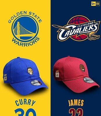 Limited Edition New Era 9TWENTY Dad Hat Curry LeBron Durant Wade NBA All-stars