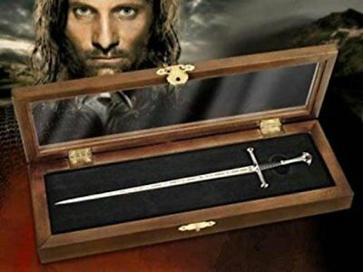 Lord of the Rings : ARAGORNS ANDURIL SWORD Letter Opener Noble Collection