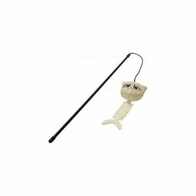 Rosewood Pet Products Grumpy Cat Cat Toy Catfish Wand 42cm