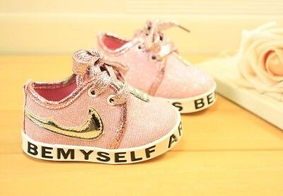 NIKE Baby Girl Trainers Shoes Sneakers age 3-6 months Baby Pink Sports