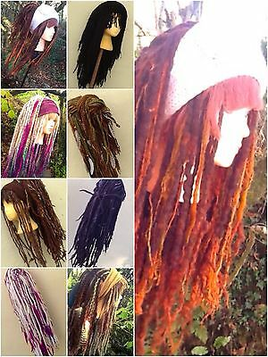 aYa Commissioned Order Dreadlock Wig 120 Wool Hair Dreads Cosplay Chemo Alopecia