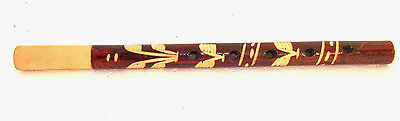 Wooden Old Instrument Traditional Musical , Hand Made Folk Whistle, Hand-Carved