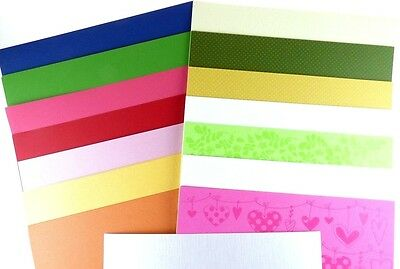 "Bazzill Basics 12""x12"" MIXED Cardstock 75 SHEETS ASSORTED BARGAIN MEGA BUNDLE  D"