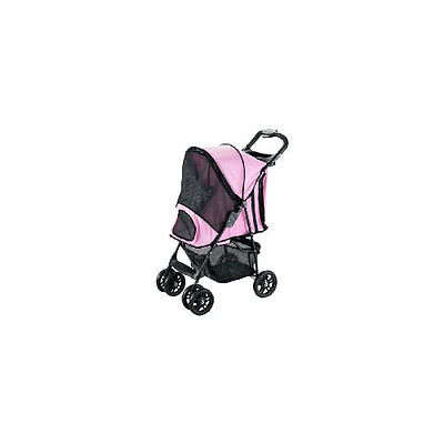 Rosewood Pet Products Pet Gear Happy Trails Stroller Pink
