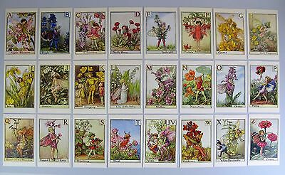 Flower Fairies Alphabet - Set of 24 Postcards by Cicely Mary Barker