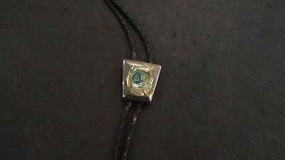 Mexico Sterling & Abalone Bolo Tie
