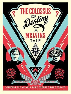 Shepard Fairey - Melvins Colossus - Signed & Numbered Screen Print