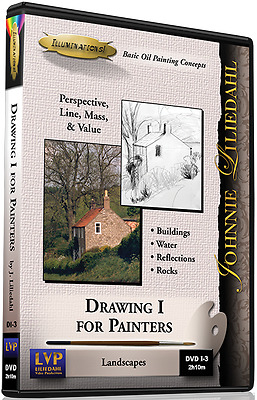 Johnnie Liliedahl: Drawing 1 for Painters - Art Instruction DVD