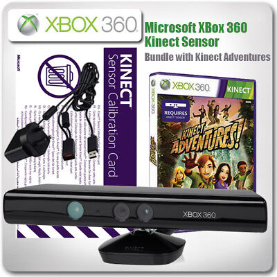 XBox 360 Kinect Sensor Bundle - *with Kinect Adventures*