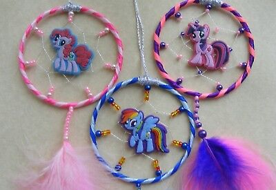 MY LITTLE PONY Personalised Dreamcatcher or MINI Dream Catcher Childrens 8 optns