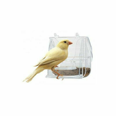 Ferplast Pretty 4522 Feeder Clear 9x9x9cm