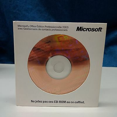 Suite Office Pro 2003 Word, Excel, PowerPoint, Outlook, Publisher,Access